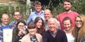 ETG team photo